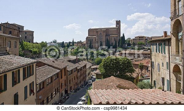 Siena in Italy - csp9981434