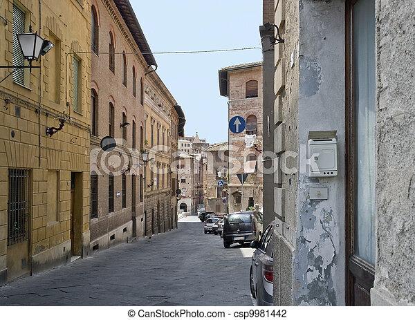 Siena in Italy - csp9981442