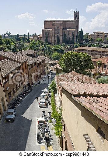 Siena in Italy - csp9981440