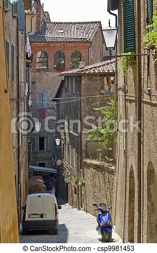Siena in Italy - csp9981453