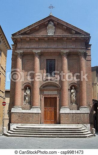 Siena in Italy - csp9981473