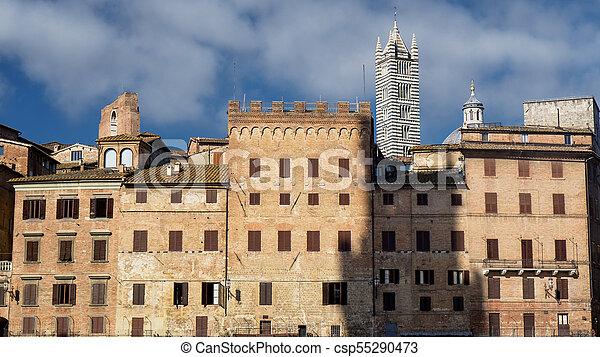 Siena Italy Piazza Del Campo