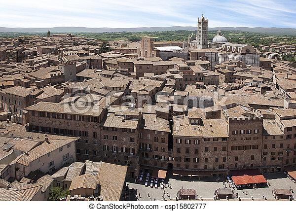 Siena, Italy - csp15802777