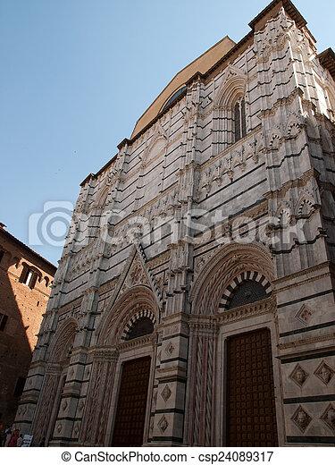 Siena-Italy - csp24089317