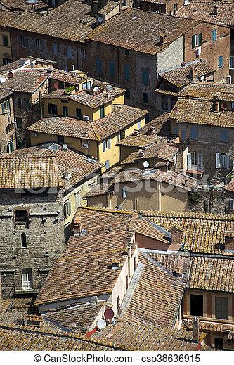 Siena, Italy - csp38636915
