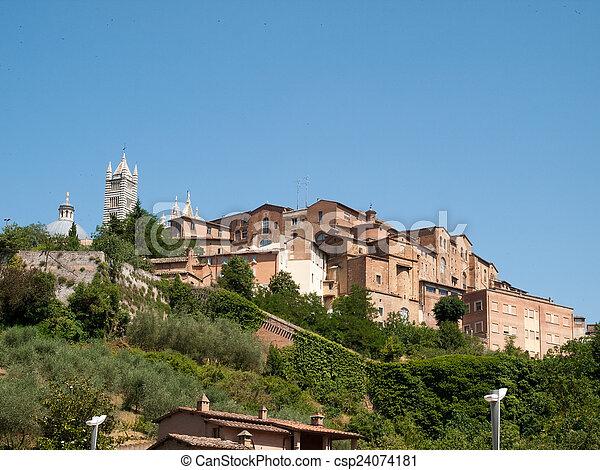 Siena-Italy - csp24074181