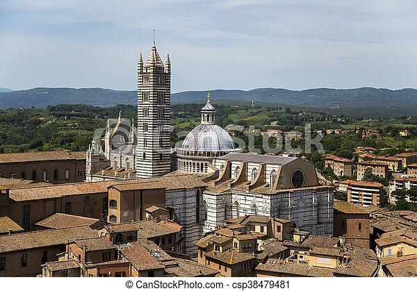 Siena, Italy - csp38479481