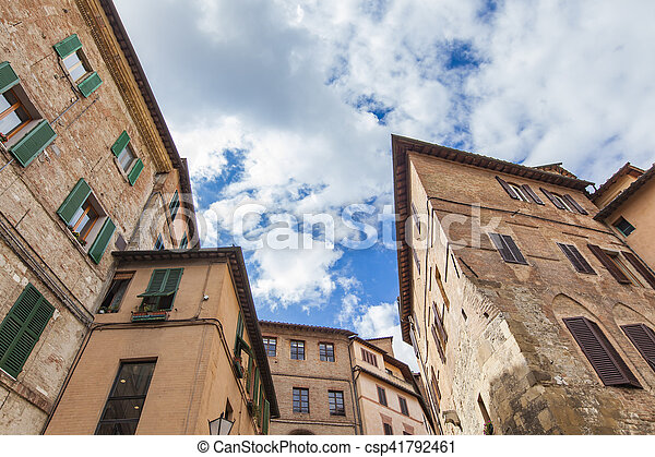 Siena, Italy - csp41792461