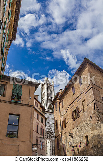Siena, Italy - csp41886252