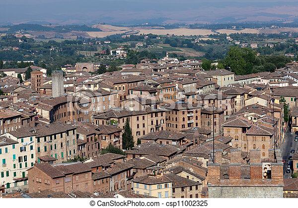 Siena, Italy - csp11002325