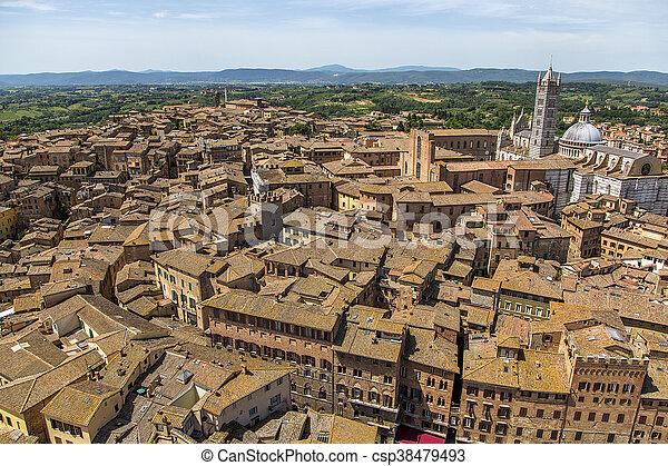 Siena, Italy - csp38479493