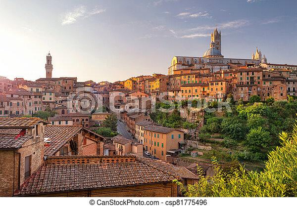 Siena, Italy. - csp81775496