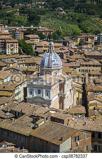 Siena, Italy - csp38782337