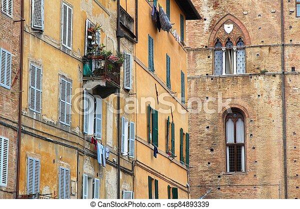 Siena, Italy - csp84893339