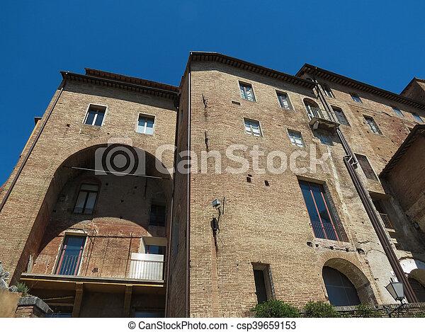 Siena, Ospedale di Santa Maria della Scala - csp39659153
