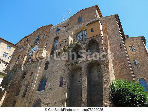 Siena, Ospedale di Santa Maria della Scala - csp75292025