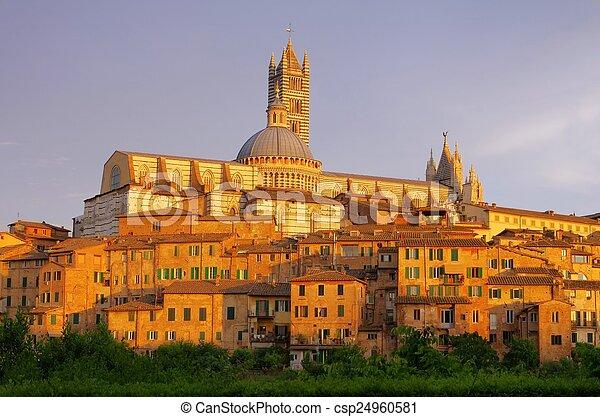 Siena - csp24960581