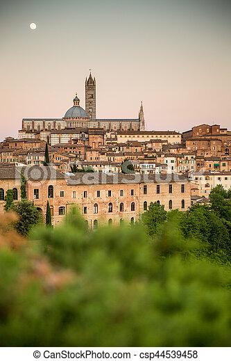Siena, Tuscany, Italy - csp44539458