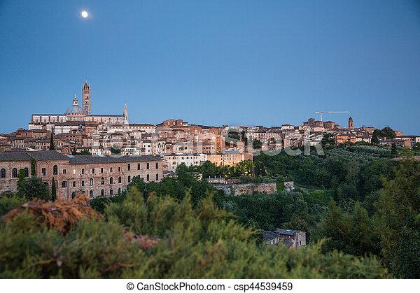 Siena, Tuscany, Italy - csp44539459