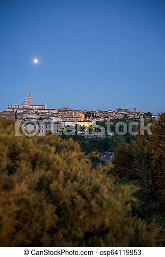 Siena, Tuscany, Italy - csp64119953
