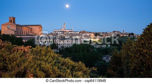 Siena, Tuscany, Italy - csp64119948