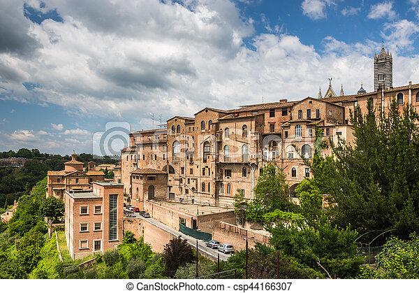 Siena, Tuscany, Italy - csp44166307