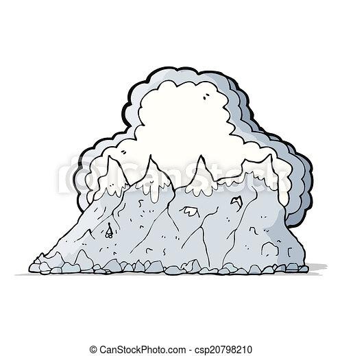 Alcance de montaña - csp20798210