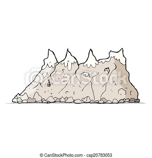 Alcance de montaña - csp20783053