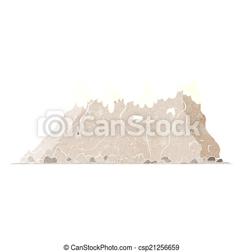 Alcance de montaña - csp21256659