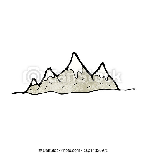 Alcance de montaña - csp14826975