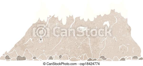 Alcance de montaña - csp18424774