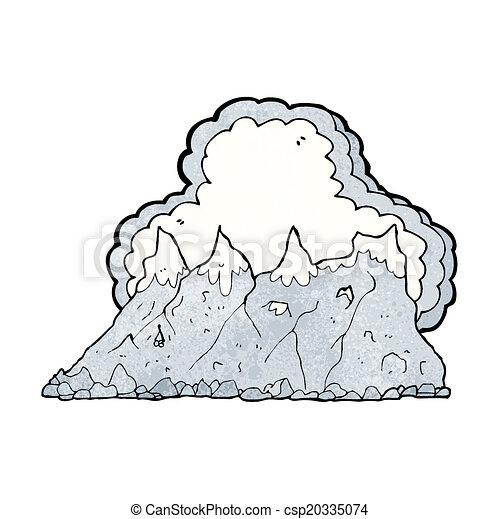 Alcance de montaña - csp20335074