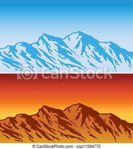 Alcance de montaña - csp11584770