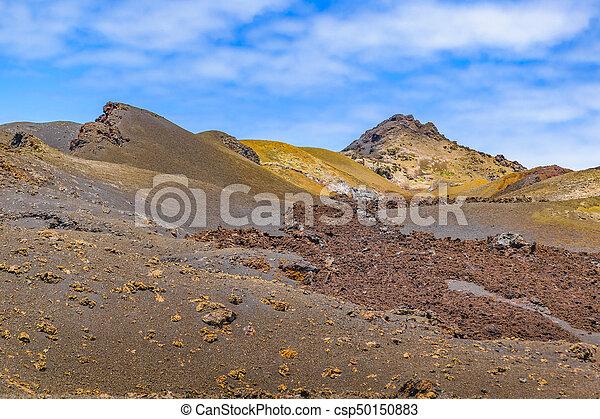 Sierra Negra Volcano, Galapagos, Ecuador - csp50150883