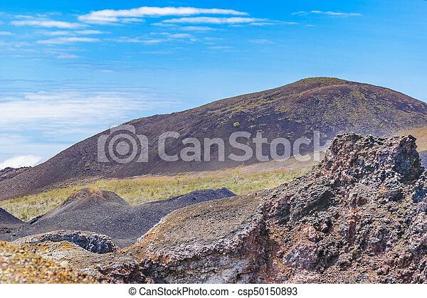 Sierra Negra Volcano, Galapagos, Ecuador - csp50150893