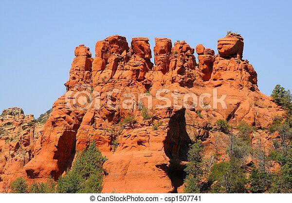 Alcance de montaña - csp1507741