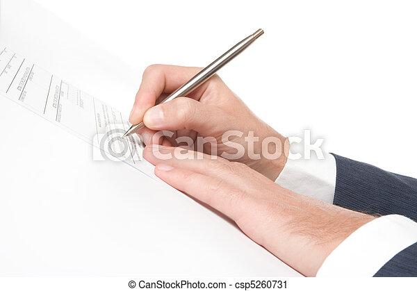 Sign agreement - csp5260731
