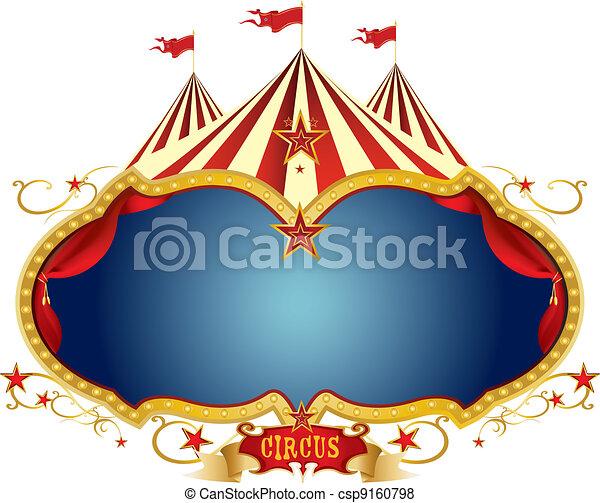 Sign circus - csp9160798