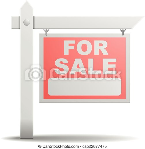 Sign For Sale - csp22877475
