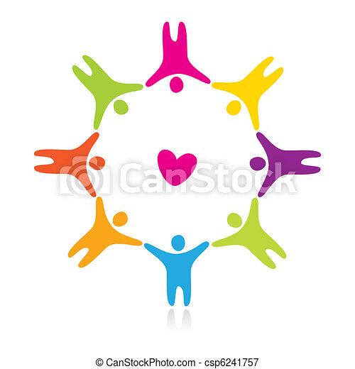Amor de amistad - csp6241757