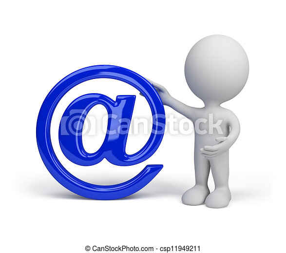 Sign of e-mail - csp11949211