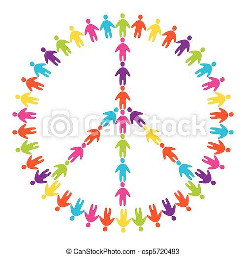 Signo de paz - csp5720493