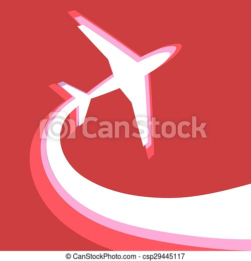 sign of the plane - csp29445117