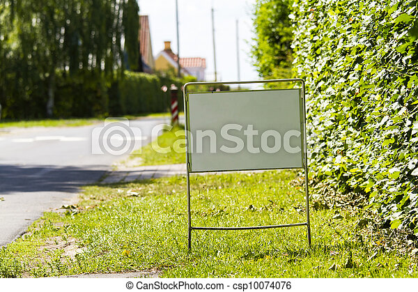 Sign - csp10074076