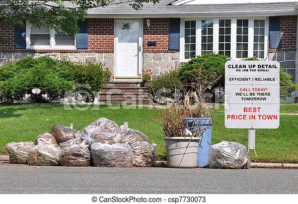 Sign Suburban Home - csp7730073