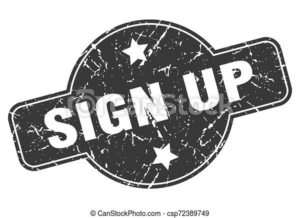 sign up - csp72389749