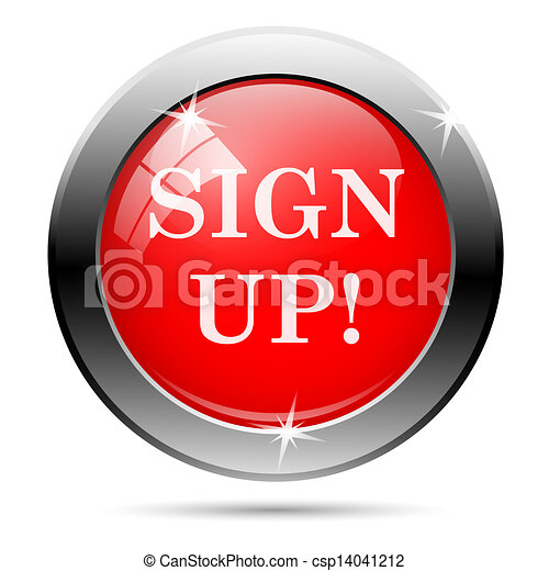 Sign up icon - csp14041212