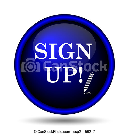 Sign up icon - csp21156217