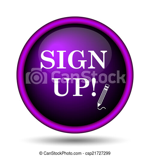 Sign up icon - csp21727299