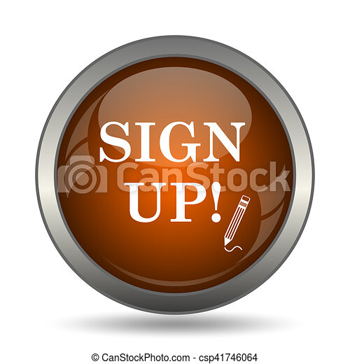 Sign up icon - csp41746064